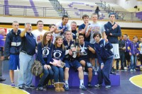 2012/13 Wrestlers trophie at Puyallup.