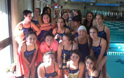 Lady Bears Swim For Glory