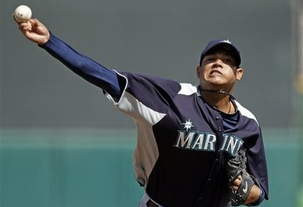 Mariners announce starting rotation