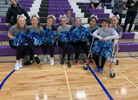 The Olympia Unified Cheer Squad.