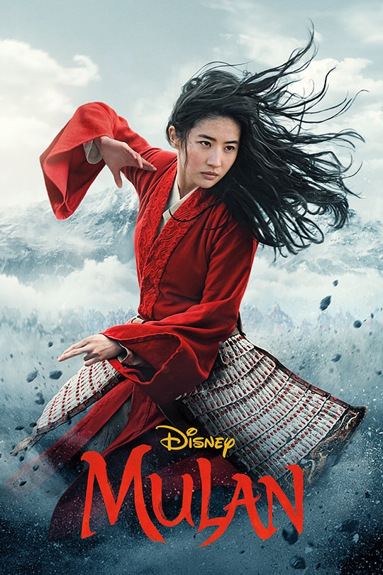 Poster for Disney's live action remake of Mulan. Photo by Disney+.