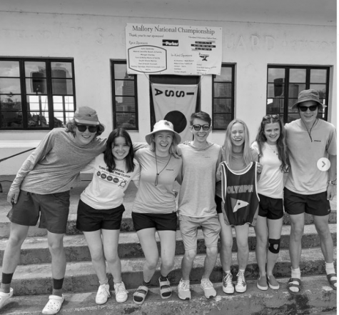 The OYC Sailing Team at the fleet race nationals.