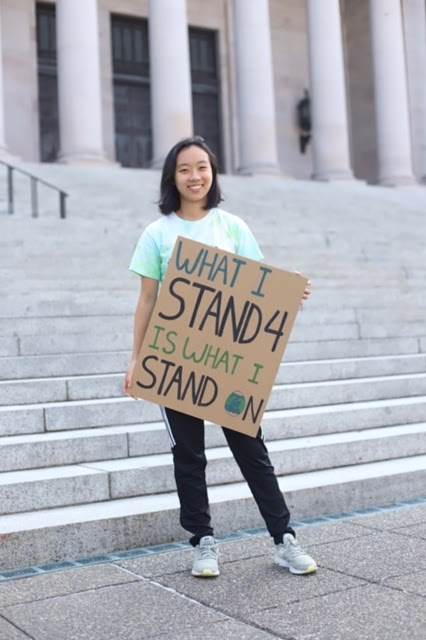 Kaylee Shen, president of Climate Action Club.